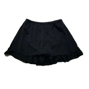 St. Johns Bay Swimsuit Swim Skirt Bottoms ~ Black